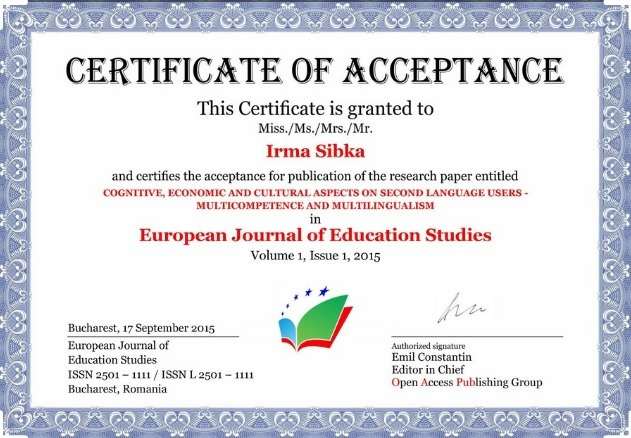 generic certificate of acceptance template for download